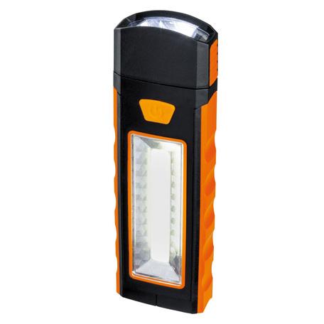 Ручной фонарик Paulmann Work light 78970, LED 1,8W, оранжевый, черный, разноцветный, пластик