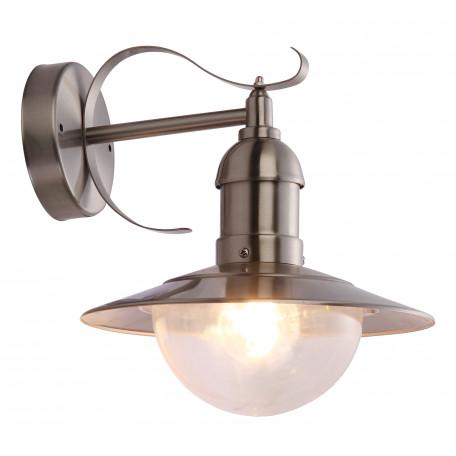 Настенный фонарь Globo Mixed 3270, IP44, 1xE27x60W, металл, металл с пластиком