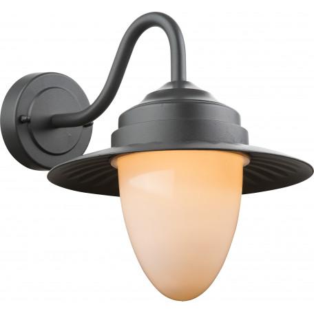 Настенный фонарь Globo Cleveland 3271, IP44, 1xE27x60W, металл, пластик