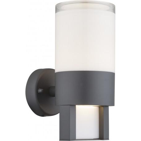 Настенный светодиодный светильник Globo Nexa 34011, IP44 3000K (теплый), металл, пластик