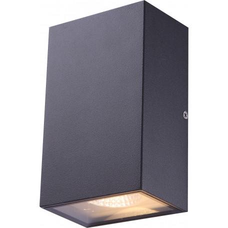 Настенный светодиодный светильник Globo Yuan 34183-2, IP44, металл, стекло