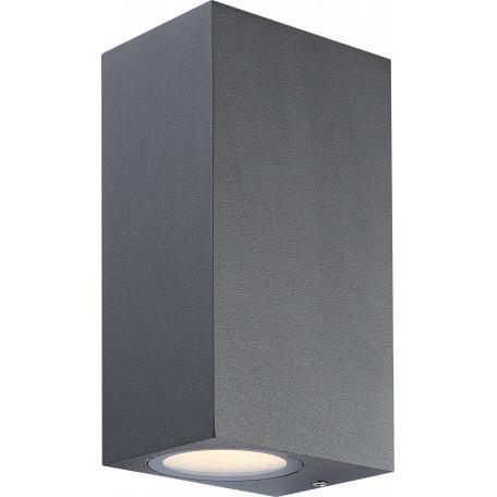Настенный светодиодный светильник Globo Skathi 34264-2, IP44, металл, стекло