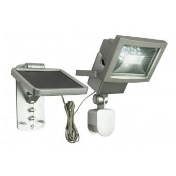 Светодиодный прожектор Globo Solar 3716S, IP44, LED 3W, металл, стекло