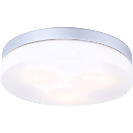 Потолочный светильник Globo Vranos 32113, IP44, 3xE27x40W, металл, стекло