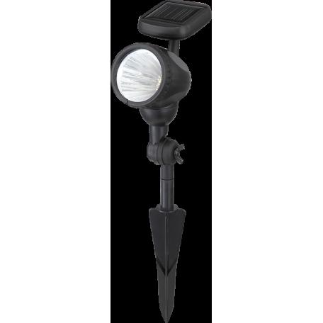 Светодиодный прожектор с колышком Globo Solar 33026, IP44, LED 0,18W, пластик