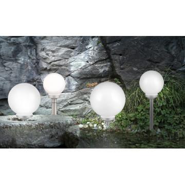 Садово-парковый светодиодный светильник Globo Solar 3377, IP44, LED 0,16W, металл, пластик - миниатюра 3