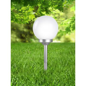 Садово-парковый светодиодный светильник Globo Solar 3377, IP44, LED 0,16W, металл, пластик - миниатюра 5