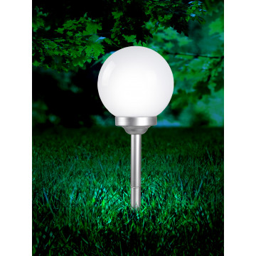 Садово-парковый светодиодный светильник Globo Solar 3377, IP44, LED 0,16W, металл, пластик - миниатюра 6