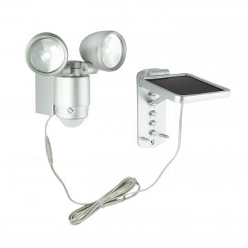 Светодиодный прожектор Globo Solar 3715S, IP44, LED 2W, металл, стекло