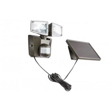 Светодиодный прожектор Globo Solar 3717S, IP44, LED 6W, пластик
