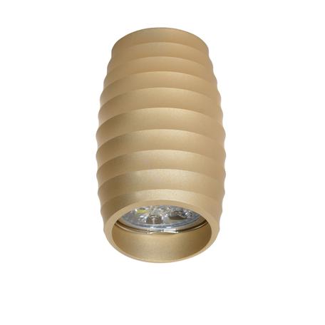 Потолочный светильник Lumina Deco Grost LDC 8052-C SS-D70*H115 GD, 1xGU10x35W, матовое золото, металл
