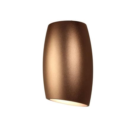 Потолочный светильник Lumina Deco Bradly LDC 8052-D SS-D70*H115 COFEE, 1xGU10x35W, коричневый, металл