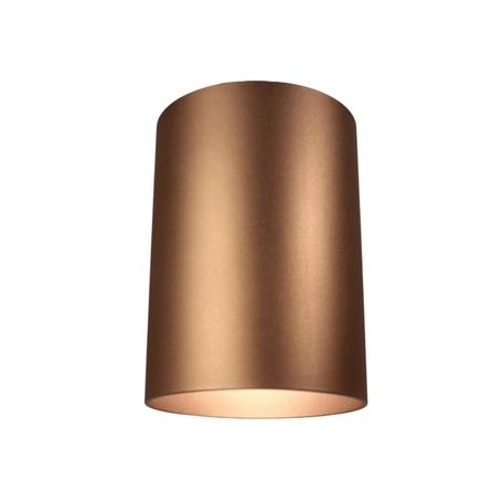 Потолочный светильник Lumina Deco Flixton LDC 8053-A SS-D85*H115 COFEE, 1xGU10x35W, коричневый, металл