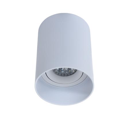 Потолочный светильник Lumina Deco Flixton LDC 8053-A SS-D85*H115 WT, 1xGU10x35W, белый, металл