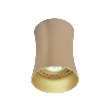 Потолочный светильник Lumina Deco Malton LDC 8053-B SS-D85*H115 GD, 1xGU10x35W, матовое золото, металл