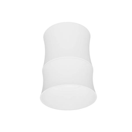 Потолочный светильник Lumina Deco Riston LDC 8053-C SS-D85*H115 WT, 1xGU10x35W, белый, металл