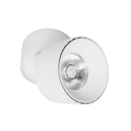 Потолочный светодиодный светильник Lumina Deco Maxton LDC 8054-12WCOB YL-D90*H110 WT, LED 12W 4000K, белый, металл