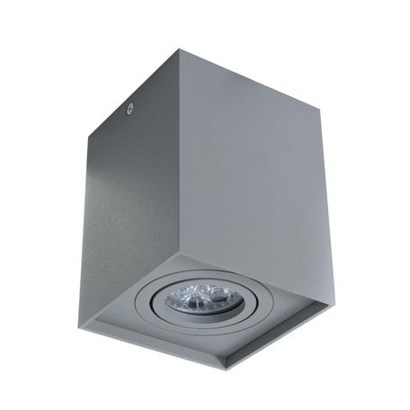 Потолочный светильник Lumina Deco Pulton LDC 8055-B JP-L100*W100*H125 GY, 1xGU10x35W, серый, металл