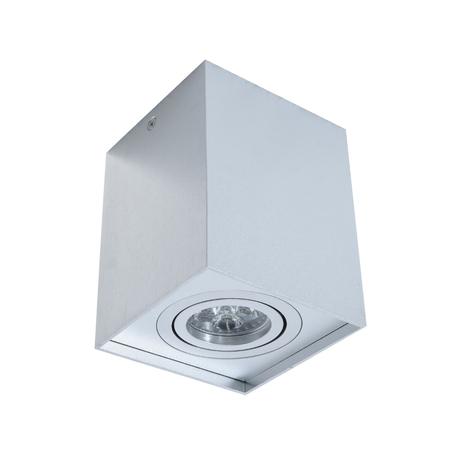 Потолочный светильник Lumina Deco Pulton LDC 8055-B JP-L100*W100*H125 SL, 1xGU10x35W, серебро, металл