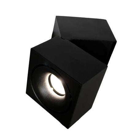 Потолочный светодиодный светильник Lumina Deco Edford LDC 8056-GYN-10WCOB D100*W110 BK, LED 10W 4000K, черный, металл