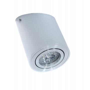 Потолочный светильник Lumina Deco Alesti LDC 8060-D JP-D80*H130 SL, 1xGU10x35W, серебро, металл