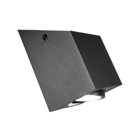 Потолочный светильник Lumina Deco Feldi LDC 8061-D JP-L80*W80*H130 BK, 1xGU10x35W, черный, металл