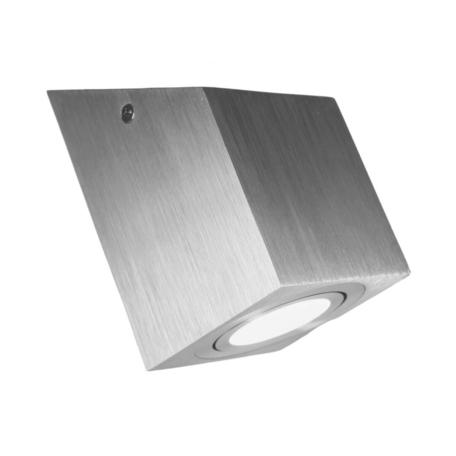 Потолочный светильник Lumina Deco Feldi LDC 8061-D JP-L80*W80*H130 SL, 1xGU10x35W, серебро, металл