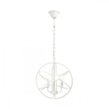 Подвесная люстра Lumion Valentin 3692/3, 3xE14x60W, белый, металл