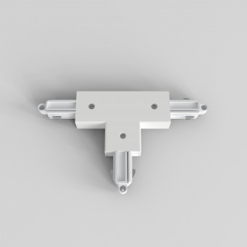 T-образный левый соединитель питания для треков Astro 6020025 (2238), белый, пластик