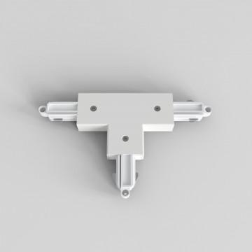 T-образный левый соединитель питания для треков Astro 6020027 (2240), белый, пластик