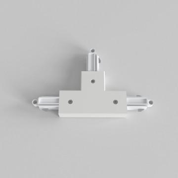 T-образный правый соединитель для шинопровода Astro Track 6020021 (2234), белый, пластик