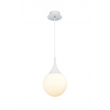 Подвесной светильник Maytoni Dewdrop P225-PL-200-N (mod225-20-n), 1xE27x8W, белый, металл, стекло