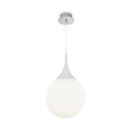Подвесной светильник Maytoni Dewdrop P225-PL-300-N (mod225-30-n), 1xE27x8W, белый, металл, стекло