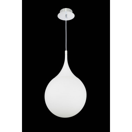 Подвесной светильник Maytoni Modern Dewdrop P225-PL-300-N (MOD225-30-N), 1xE27x8W, белый, металл, стекло - миниатюра 2