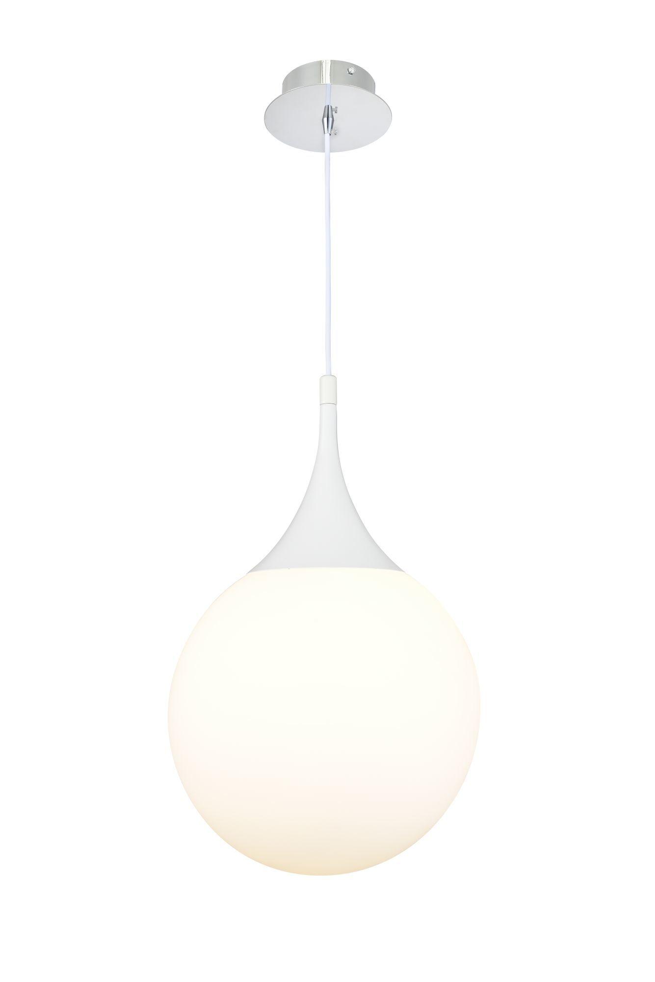 Подвесной светильник Maytoni Modern Dewdrop P225-PL-300-N (MOD225-30-N), 1xE27x8W, белый, металл, стекло - фото 2