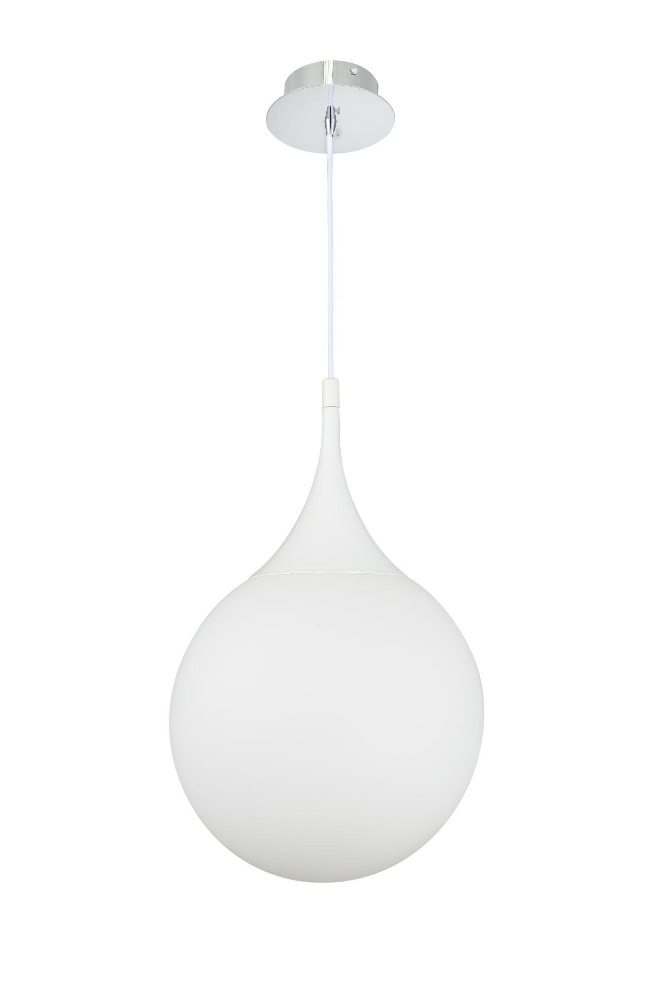 Подвесной светильник Maytoni Modern Dewdrop P225-PL-300-N (MOD225-30-N), 1xE27x8W, белый, металл, стекло - фото 3