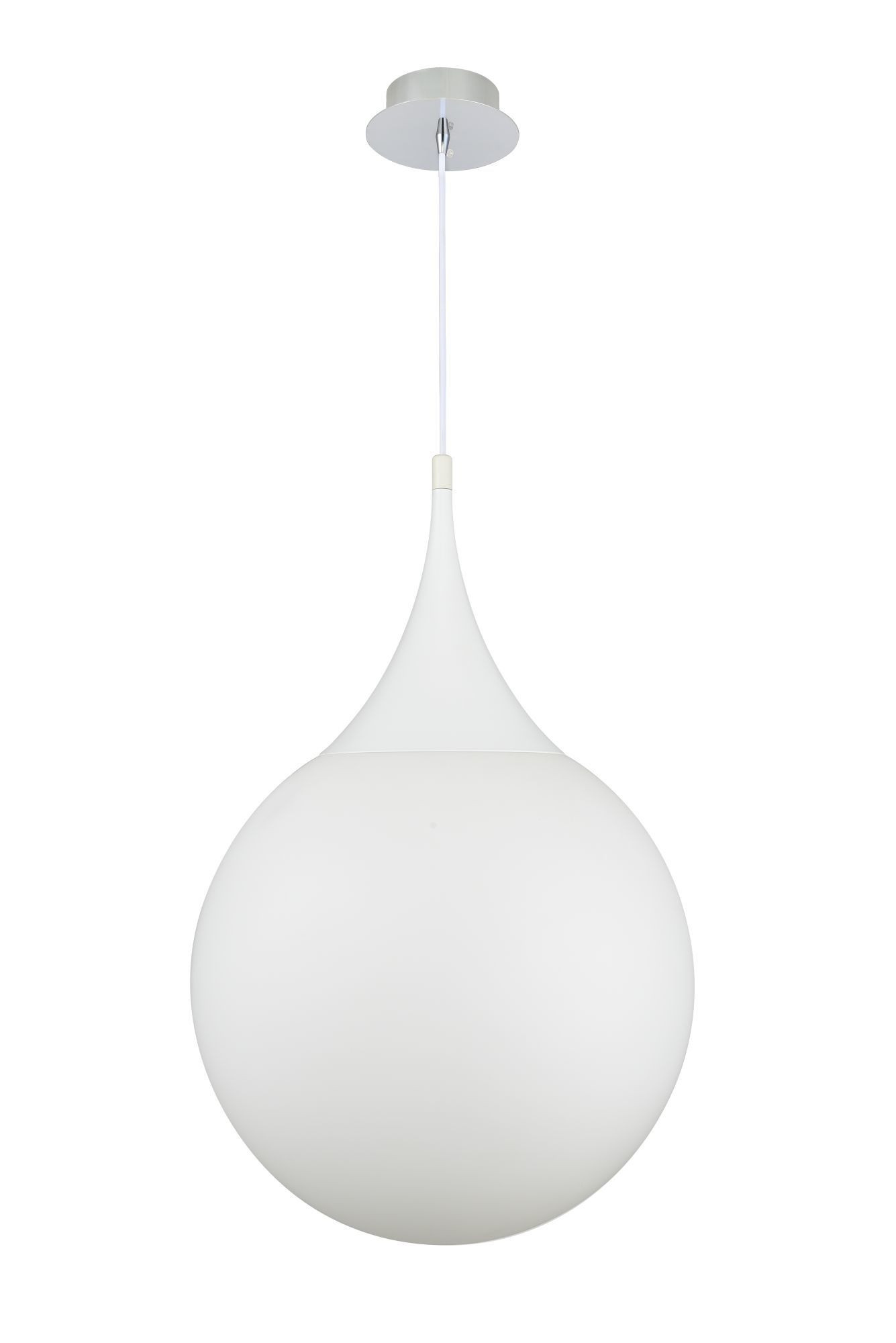 Подвесной светильник Maytoni Dewdrop P225-PL-400-N (mod225-40-n), 1xE27x8W, белый, металл, стекло - фото 2