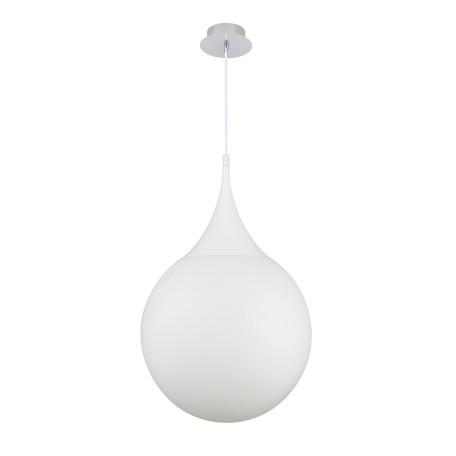 Подвесной светильник Maytoni Dewdrop P225-PL-400-N (MOD225-40-N), 1xE27x8W, белый, металл, стекло - миниатюра 3