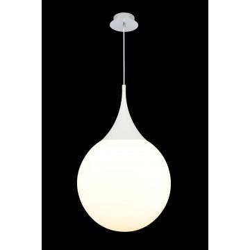 Подвесной светильник Maytoni Dewdrop P225-PL-400-N (mod225-40-n), 1xE27x8W, белый, металл, стекло - миниатюра 4