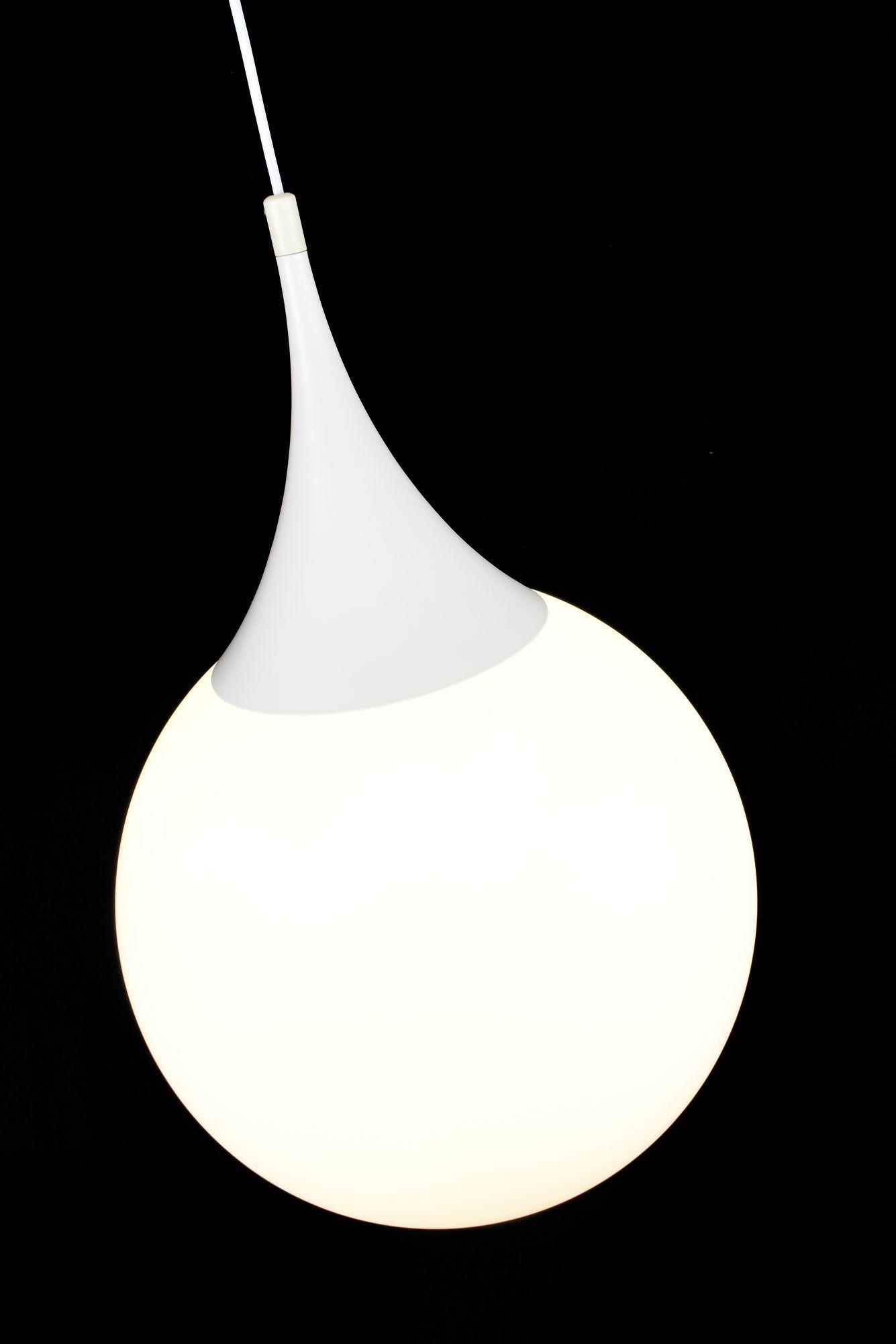 Подвесной светильник Maytoni Dewdrop P225-PL-400-N (mod225-40-n), 1xE27x8W, белый, металл, стекло - фото 6