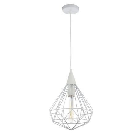 Подвесной светильник Maytoni Loft Calaf P360-PL-250-W (MOD360-01-W), 1xE27x60W, белый, металл - миниатюра 1