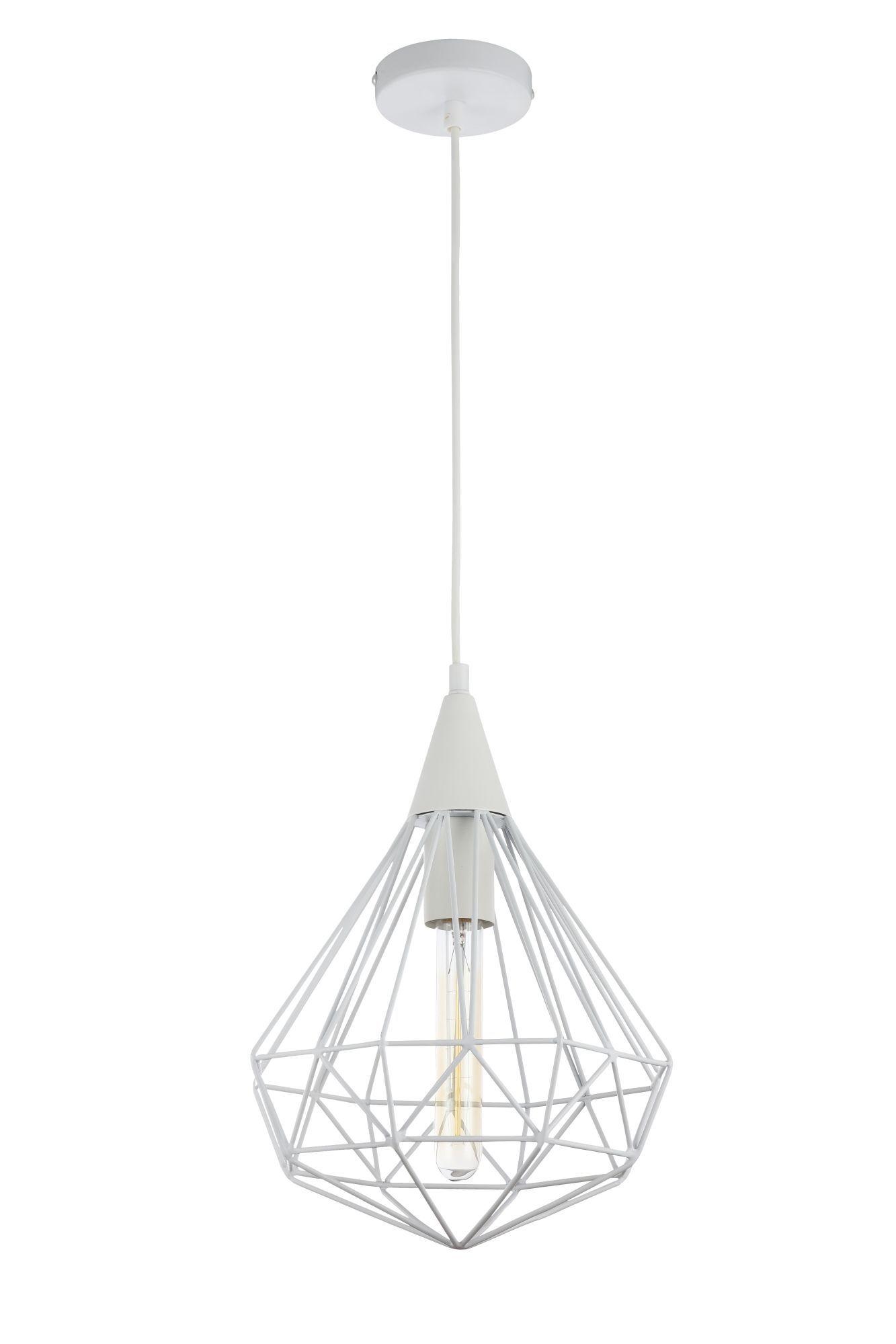 Подвесной светильник Maytoni Loft Calaf P360-PL-250-W (MOD360-01-W), 1xE27x60W, белый, металл - фото 1