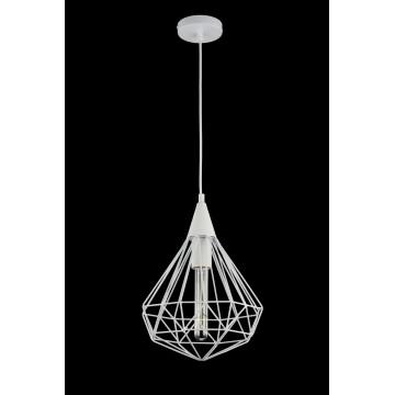 Подвесной светильник Maytoni Loft Calaf P360-PL-250-W (MOD360-01-W), 1xE27x60W, белый, металл - миниатюра 2