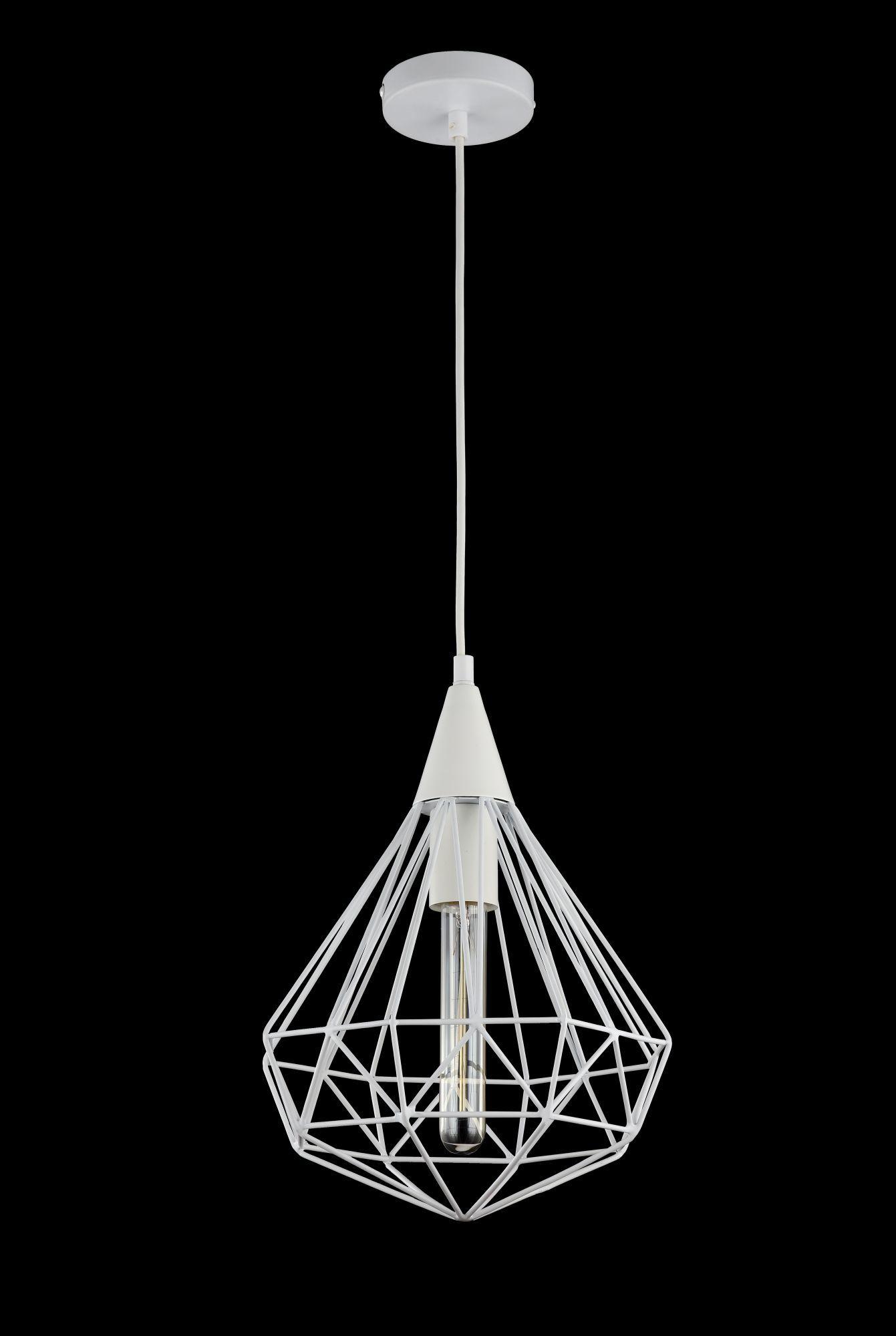 Подвесной светильник Maytoni Loft Calaf P360-PL-250-W (MOD360-01-W), 1xE27x60W, белый, металл - фото 2