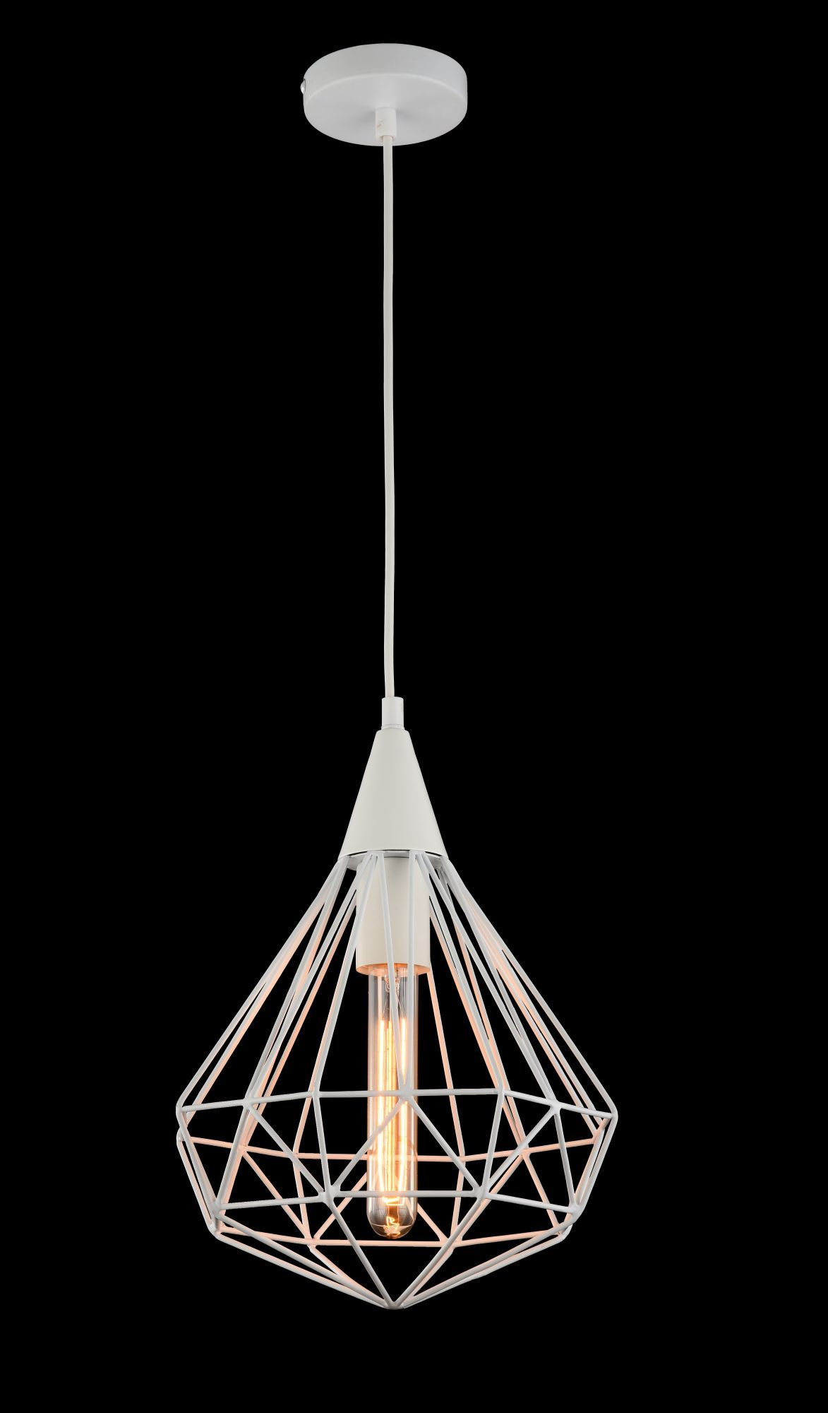 Подвесной светильник Maytoni Loft Calaf P360-PL-250-W (MOD360-01-W), 1xE27x60W, белый, металл - фото 3