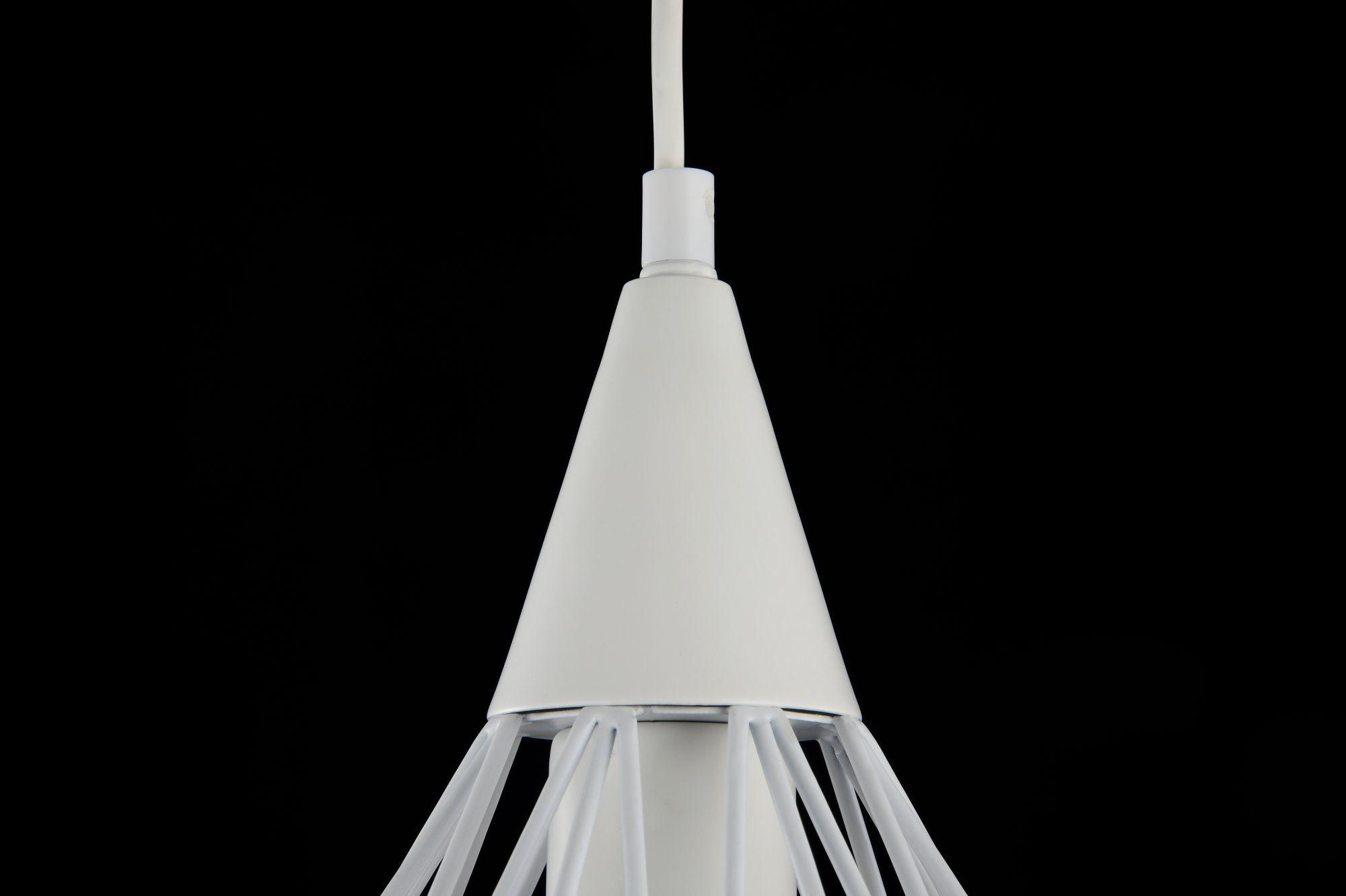 Подвесной светильник Maytoni Loft Calaf P360-PL-250-W (MOD360-01-W), 1xE27x60W, белый, металл - фото 4