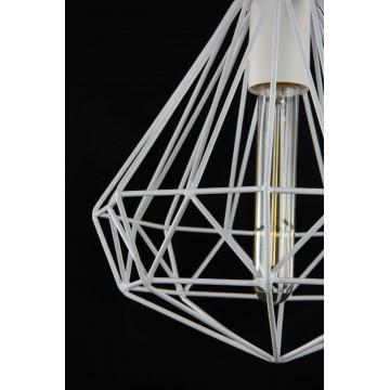 Подвесной светильник Maytoni Loft Calaf P360-PL-250-W (MOD360-01-W), 1xE27x60W, белый, металл - миниатюра 5