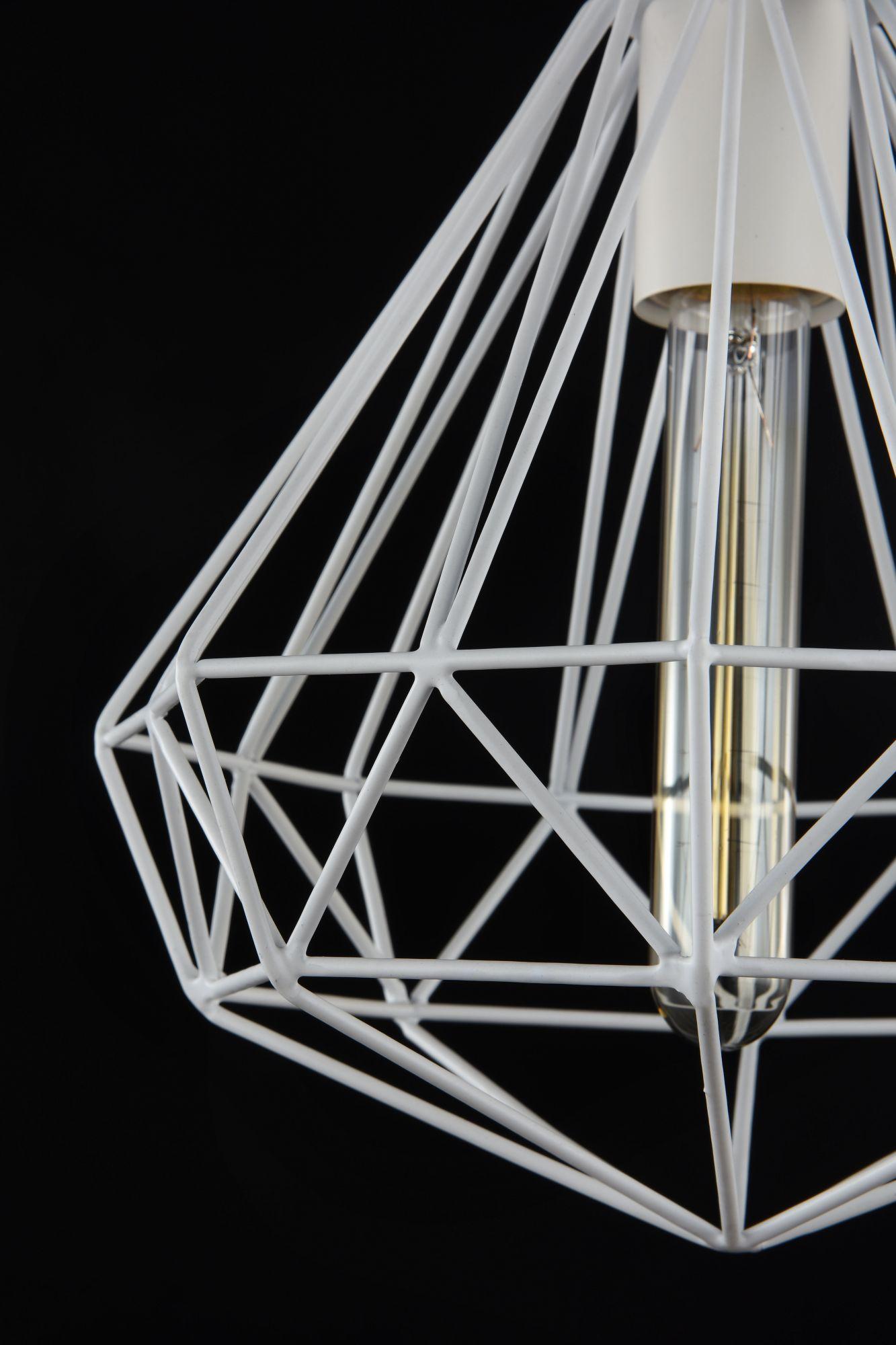 Подвесной светильник Maytoni Loft Calaf P360-PL-250-W (MOD360-01-W), 1xE27x60W, белый, металл - фото 5