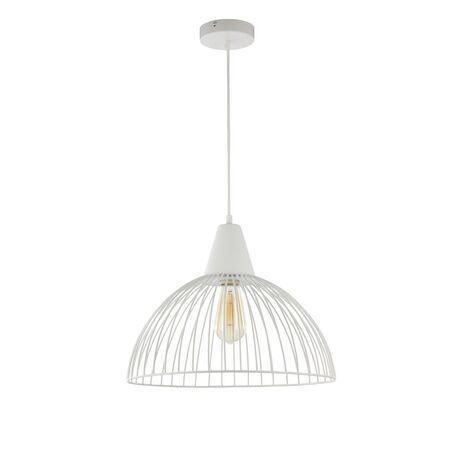 Подвесной светильник Maytoni Calaf P360-PL-400-W (mod360-11-w), 1xE27x60W, белый, металл