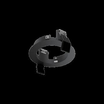 Декоративная рамка Ideal Lux DYNAMIC FRAME ROUND BLACK 208701, черный, металл